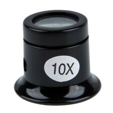 Watch Eyes Loupe 10X Jeweller Optical Glass Magnifier Magnifying Len Tool I D3N7