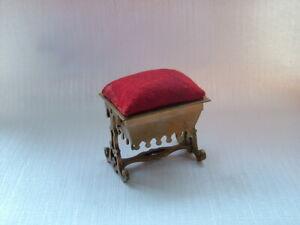 Antique Regency Pin Cushion casket.