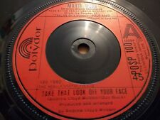 "MARTI WEBB"" TAKE THAT LOOK OFF YOUR FACE "" 7"" SINGLE EXCELLENT 1980"