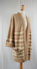 Vintage St Michael 1960s Shetland Wool Long Cardigan