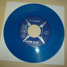 GARAGE BAND 45 RPM RECORD - THE COACHMEN - MMC 010 - BLUE VINYL
