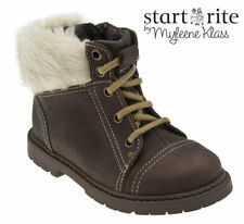 Baby Boys' Leather Zip Shoes