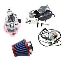 Motorcycle LIFAN 125cc Kick Manual Engine Motor Wire Harness Carb 4 up Dirt Bike