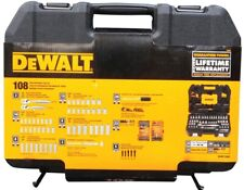 NEW DEWALT 108 PIECE MECHANICS TOOL SET WITH CASE DWMT73801 BRAND NEW 7515000