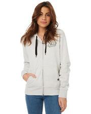 RIP CURL Womens Hells Bells Zip Thru Hoodie Pullover Jumper Sweatshirt Size 8-14