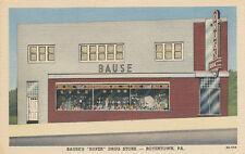 Boyertown PA * Bause's Super Drug Store 1940s * Berks Co.