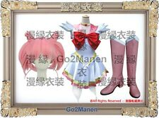 Costume+Wig+Boots B10 Super Sailor Moon Cosplay Chibi usa Sailor chibi moon