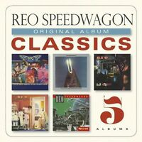 Original Album Classics - 5 DISC SET - Reo Speedwagon (2013, CD NUEVO)