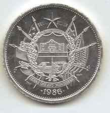 Dated 1836-1986 Circulated Texas Sesquicentennial Round. 1-Troy oz. .999 Silver