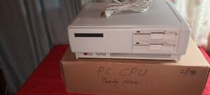Vintage TANDY 1000 SX PERSONAL COMPUTER PC CPU MODEL NO. 25-1051B, U.S.A., GREAT