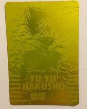 Yu Yu Hakusho PP Card Gold 132