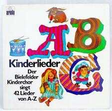 *w- LP - ABC Kinderlieder - Der BIELEFELDER Kinderchor singt 42 Lieder von A-Z
