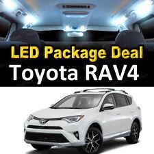 8x White LED Lights Interior Package Deal For 2006 - 2013 2014 2015 Toyota RAV4