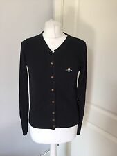 Gorgeous Vivienne Westwood Red Label Black Orb Cardigan Size S
