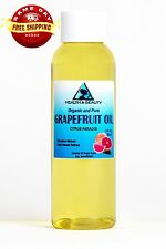 Grapefruit Seed Oil Organic Cold Pressed by H&B Oils Center Premium Pure 2 Oz