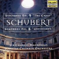 Mackerras/Scottish Chamber Orc - Schubert: Symphonies 8 & 9 (NEW CD)