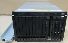 IBM BladeCentre E 8677 4x Blade 8843 8x 64-Bit Xeon 2.8GHz 16GB Ram 291GB 4x PSU