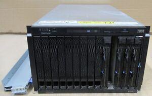 IBM BladeCenter E 8677 4x Blade 8843 8x 64-Bit Xeon 2.8GHz 16GB Ram 291GB 4x PSU