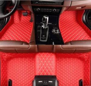For Lexus ES350-ES300h - 2013-2017 leather Car Floor Mats Waterproof Mat