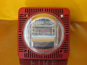 GENTEX SSPK24-60WR 60CD SPEAKER STROBE RED