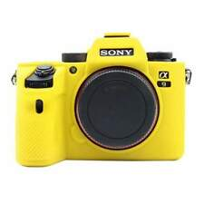 AMZER Soft Silicone Protective Camera Case for Sony A9 / ILCE-9 - Yellow