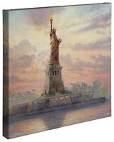 Thomas Kinkade Studios Dedicated to Liberty 20 x 20 Gallery Wrapped Canvas