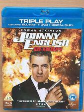 Rowan Atkinson Johnny English Reborn 2012 British Spy Spoof Comedy UK Blu-ray