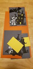 Halloween Embossed 3 piece Card Kit