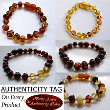 BALTIC AMBER CHILD BRACELETS ANKLETS gift necklace bead