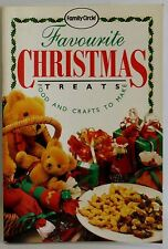 Favourite Christmas Treats Family Circle mini cook book Great Recipes Crafts