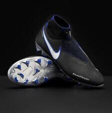 Nike Phantom VSN Elite DF FG Black Blue AO3262- 004 Soccer Cleats Men's NEW