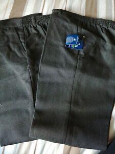 Boys New Dark grey school trousers, Age 8-9 Next BNWOT