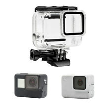 Waterproof Housing Case Diving Protective Cover for Gopro Hero 7 Silver/White UK