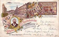 Lithographien aus Niedersachsen mit dem Thema Eisenbahn & Bahnhof