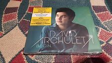 David Archuleta - Begin. - sealed - made in the Philippines
