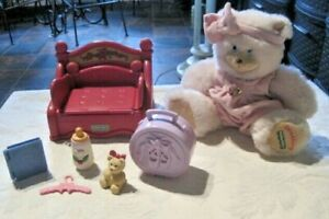 Briarberry Collection Lot ~ Sarah Berry Bear, Clothes Furniture & Accessories