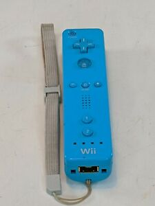 Official Teal Nintendo Wiimote Motion Controller RVL-003 Tested Working w/strap
