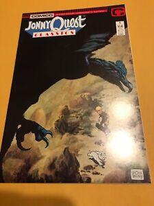 JOHNNY QUEST CLASSIC #1 : Comico comics 1987 VF; Hadjj Bandit Dr. Quest, movie