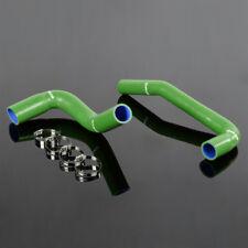 Silicone Radiator Hose Pipe Kit For Jeep Wrangler Yj/Tj 2.4/4.2L 87-06 Green