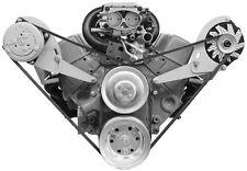 Alan Grove Small Block Chevy SWP Steel A/C Air Compressor & Alternator Bracket