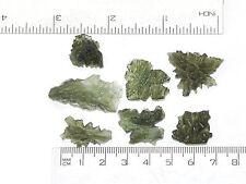 Besednice moldavite natural wholesale lot 7 PCS 11.70g #BESED118