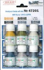 AKAN 47201 Paints Set For US Navy Aircraft 1941-1950 (6 colors)