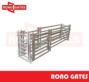 3m Sheep Draft Race & Sheep Yard Panel Gate