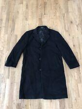 Lauren Ralph Lauren Wool Cashmere Blend Overcoat Coat Jacket Black Mens 42r