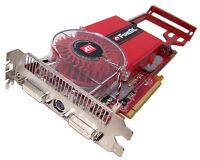 Video Card PCIe 2-DVi HP Fire GL V7200 256MB 413107-001 X16 ATi 109-A52031-21