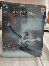 The Shawshank Redemption International Steelbook (Blu-ray/Dvd)