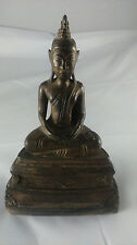 Old statue Asia. Ancienne statue Asie Bouddha buddha wood bois