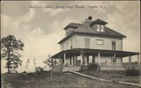 Freeville NY George Junior Republic c1910 Postcard jrf NEW YORK COTTAGE