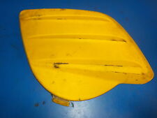 SKIDOO SUMMIT 600/700/800 2000-03  CLUTCH SIDE COVER PLASTIC RARE YELLOW USED