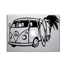 """Macbook Aufkleber Sticker Decal skin Air Pro 11"""" 13"""" 15"""" VW bulli camper bus v3"""